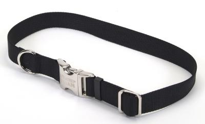 "Coastal Pet Products 61601 3/4"" Adjustable Spectra Dog Collar - Black"