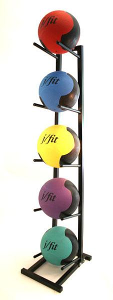 J/Fit Medicine Ball Rack