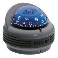 Ritchie TR-33G Trek Compass - Bracket Mount - Gray