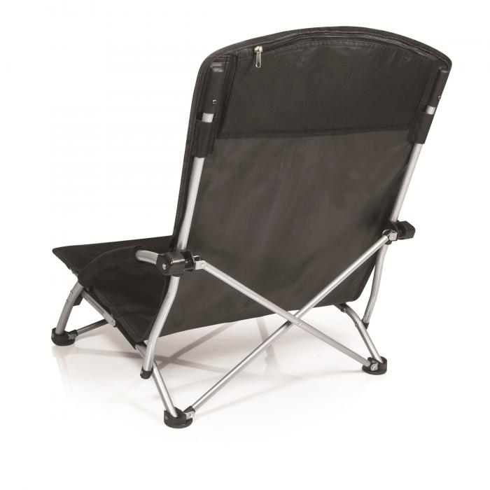 Picnic Time Tranquility Chair- Black