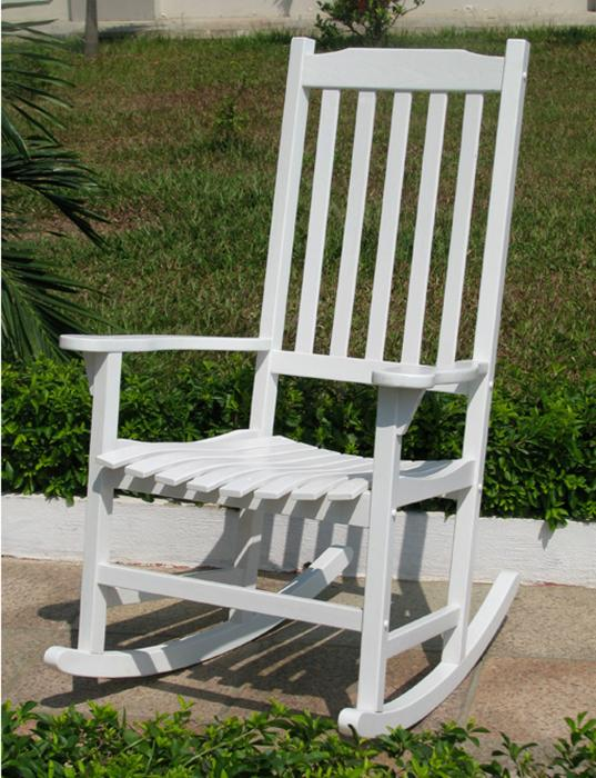 Merry Products Painted Traditional Rocking Chair