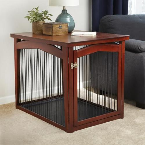 Merry Products 2 in 1 Configurable Pet Crate and Gate - Large