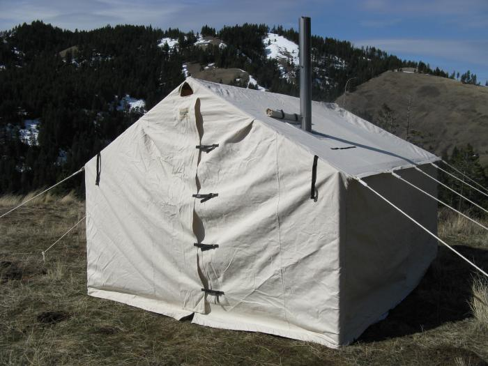 12x14x5ft Magnum Wall Tent and Angle Kits & Magnum Wall Tent and Angle Kits