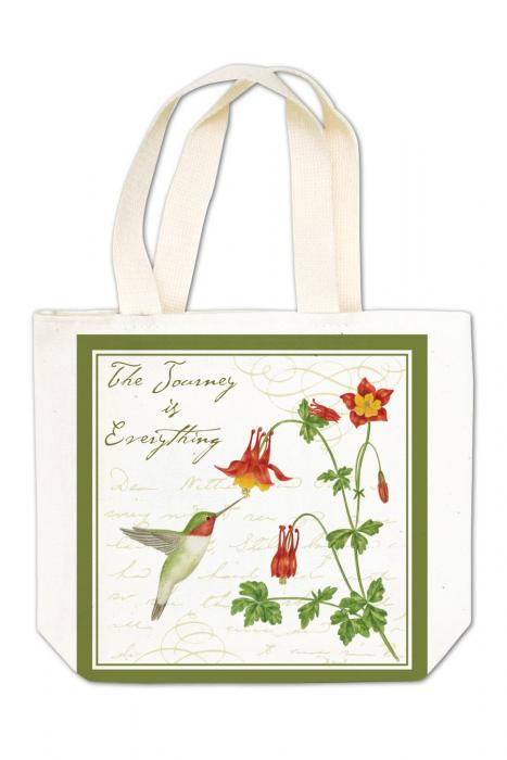 Alice's Cottage Hummingbird Gift Tote