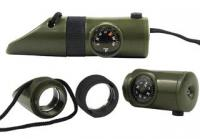 JB Outman Compass w/ Light & Whistle