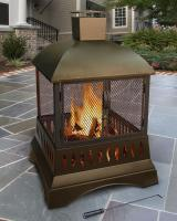 "Landmann USA 50.5"" Grandezza Outdoor Fireplace"
