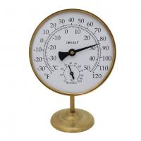 Conant Custom Brass Vermont Portable Weather Station Living Finish Brass