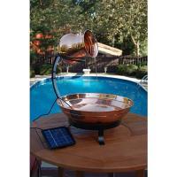 Unique Arts Copper Cascading Solar Fount