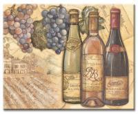 Counter Art Vineyards Glass Cutting Board 12 x 15
