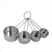 Ekco 4-Pc Measuring Cup Set, Stainless Steel