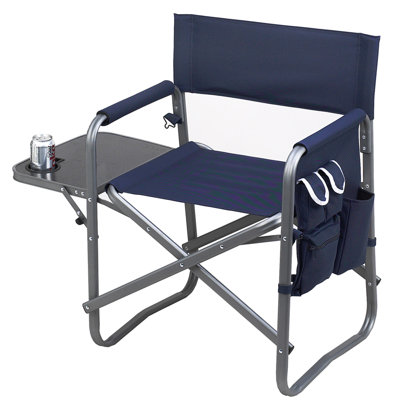 Picnic At Ascot Deluxe Folding Sports Chair Navy