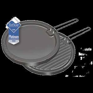 """Magma 2 Sided Non-Stick Griddle 11-1/2"""" Round"""