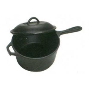Bayou Classic 2.5 Quart Cast Iron Covered Sauce Pot