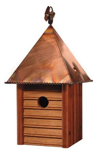 Heartwood Homestead Birdhouse, Mahogany