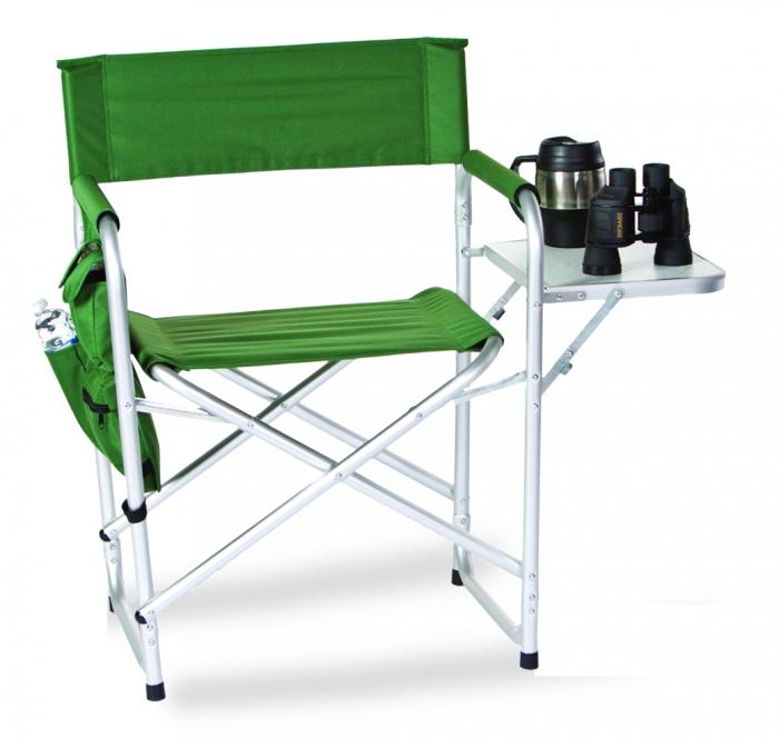 Picnic Plus Directors Sport Chair W Folding Side Table