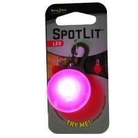 2012 NITE IZE SpotLit Pink Plastic - White LED