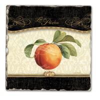 Counter Art Gourmet Fruit Single Tumbled Tile Coaster