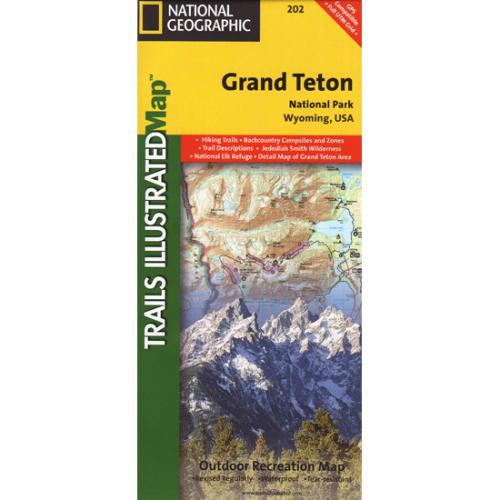 National Geographic Alpine Lakes Wildernes #825