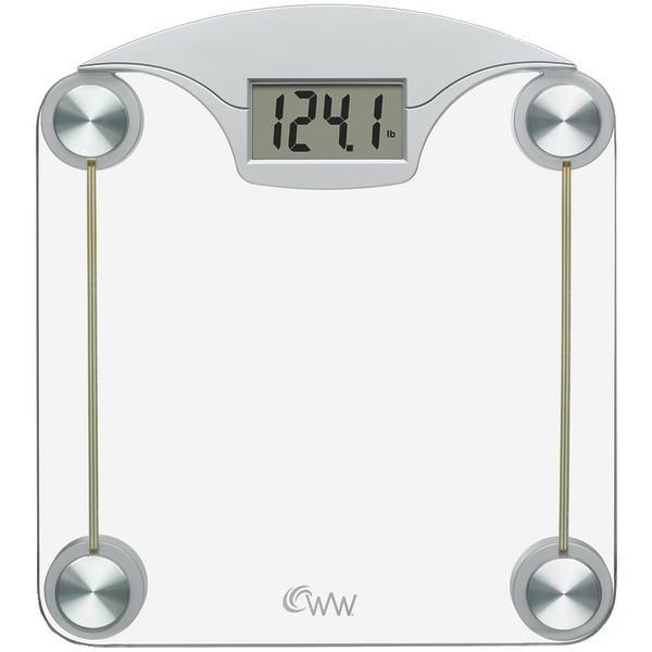 Conair WW39 Weight Watchers Digital Glass & Chrome Scale