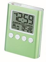 Chass C-Time Green LCD Travel Alarm Clock
