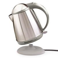Chef'sChoice Cordless Electric Kettle - Stainless Steel Grey Finish