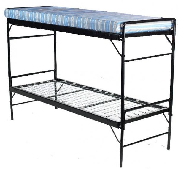 Blantex Army Style Bunk Bed Set (Iron Construction)