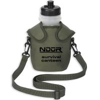 NDuR Survival Canteen w/Advanced Filter, Olive, 46oz.