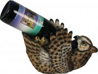 Rivers Edge Products Owl Wine Bottle Holder