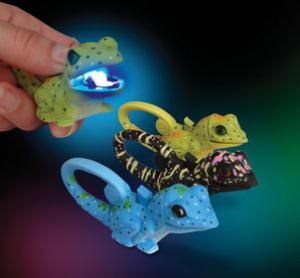 Sun Lifelight LED Clip Light, Lizard Assorted