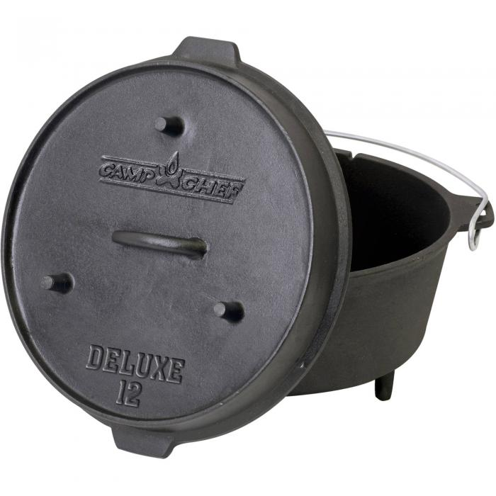 Camp Chef 12'' Seasoned Dutch Oven