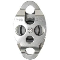 "CMI 2"" Aluminum Plate Steel Double Ended Pulley"