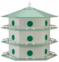 Heath Aluminum 18-Room Deluxe Purple Martin House