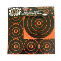 "Birchwood Casey Big Burst 8"" and 4"" - 18 Targets"
