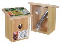 Songbird Essentials Nest View Bird House with Window Film