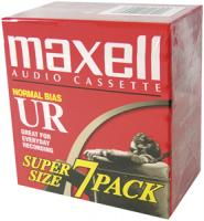 Maxell 108575 Normal Bias Audio Tape (90 min, 7-pk)