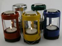 Industrial Revolution Mini Lantern - Red