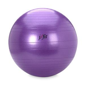 J/Fit Professional Grade Exercise Ball 65 cm with Pump (Purple)