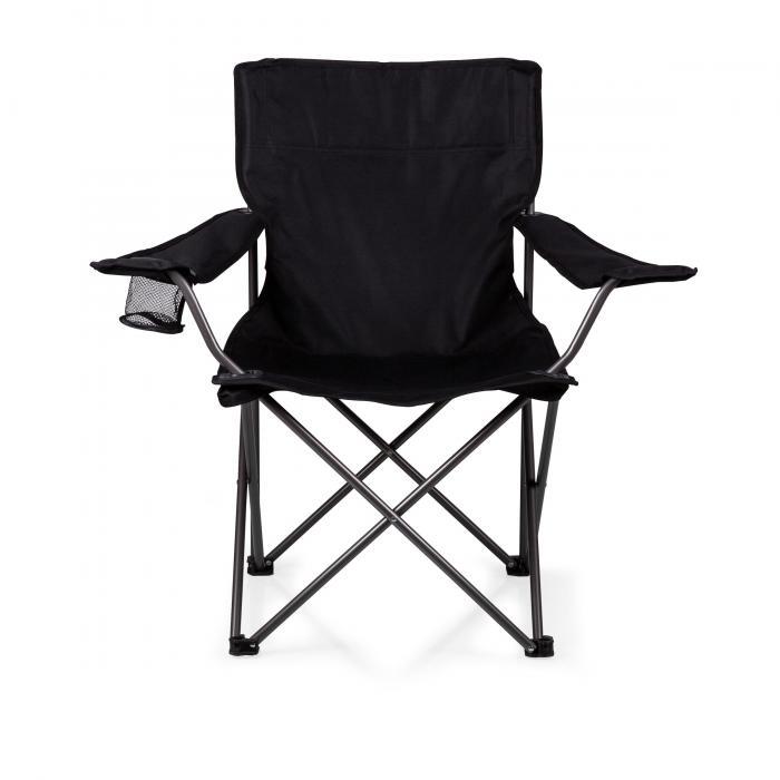 Picnic Time PTZ Camp Chair - Black