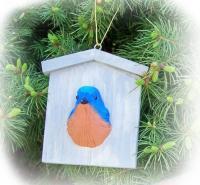 Songbird Essentials Bluebird House Ornament