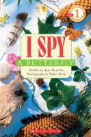 Scholastic Books I Spy a Butterfly
