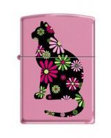 Zippi 238 Pink Matte Funky Cat