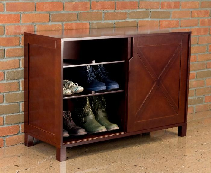 Merry Products Windsor Shoe Dresser