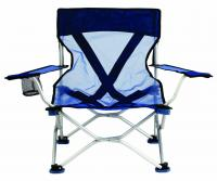 Travel Chair French Cut Chair, Blue