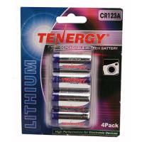 Tenergy CR123 4Pack (Retail),Chrome