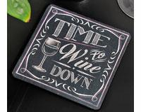 Giftcraft Chalk Talk Coasters (set of 4)