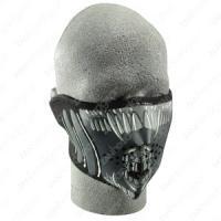 Cold Weather Headwear Neoprene 1/2 Face Mask, Alien