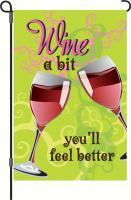 Premier Designs Wine A Bit Garden Flag