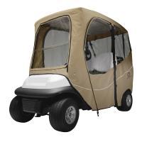 Fairway Golf Cart Deluxe Enclosure Short Roof - Khaki