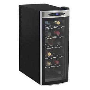 Avanti EWC1201B 12-Bottle Counter Top Single-Zone Wine Cooler