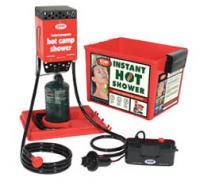 Zodi  Hot Tap Hot Shower with Hard Case, 6 volt pump